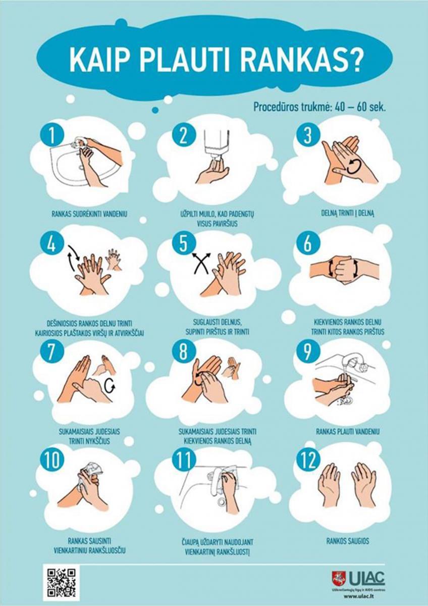 Koronavirusas ranku plovimas