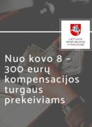 300 eurų kompensacijos turgaus prekeiviams