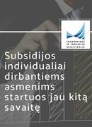 Subsidijos individualiai dirbantiems asmenims
