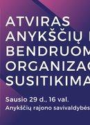 Anykščių rajono savivaldybės bendruomeninių organizacijų susitikimas