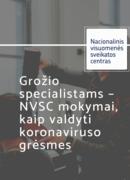 NVSC mokymai grožio specialistams