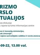 Susitikimas/diskusija: Turizmo verslo aktualijos
