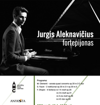Pianisto Jurgio Aleknavičiaus koncertas