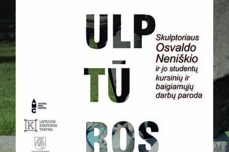 Opening ceremony of the exhibition of works by Oscar Neniskis and his students at the Telšiai Faculty of Applied Sculpture, VDA