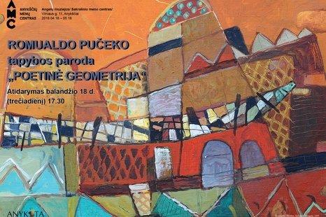 """Parodos """"Poetinė geometrija"""" atidarymas"""