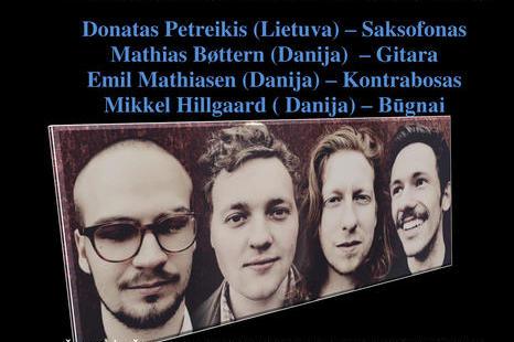 Liepos 19 d. Troškūnuose Danijos Karališkosios menų akademijos kvarteto koncertas