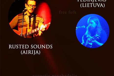 Akustinė muzika iš Airijos ir Lietuvos