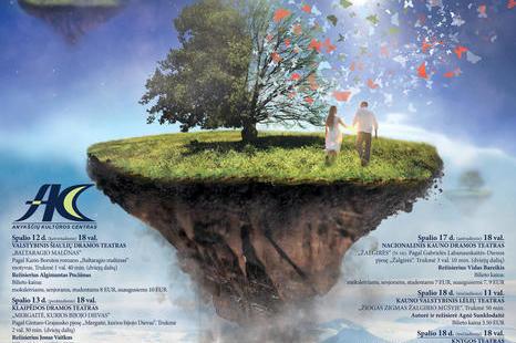 """Profesionalių teatrų nacionalinės dramaturgijos festivalis """"Pakeleivingi 2017"""""""