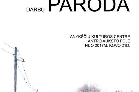 Nuo kovo 21 d. atsidaro Kęstučio Indriūno darbų paroda