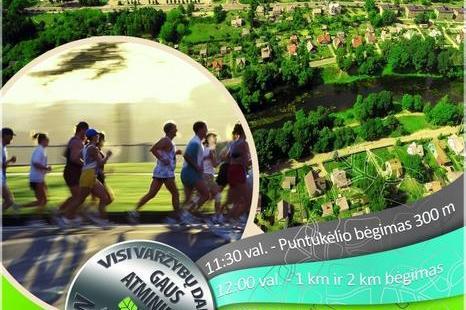 """Tradicinis """"Anykščiai – Puntuko akmuo – Anykščiai"""" bėgimas"""