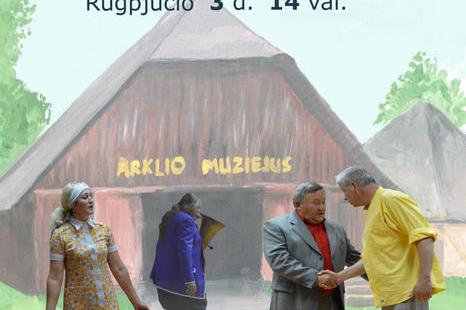 "Rugpjūčio 3 d. spektaklis ""Šeškai"" Rež. G. Eimanavičius"