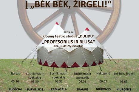 """Tradicinių kinkinių žygis """"Į """"BĖK BĖK, ŽIRGELI!"""" - SU ŽEMAITUKAIS!"""""""