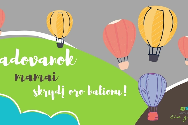 Hot air balloon flights in Anykščiai