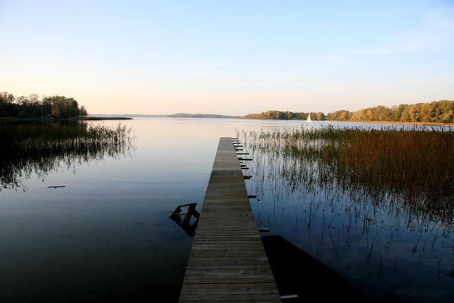 Vandens maršrutas: per ežerus