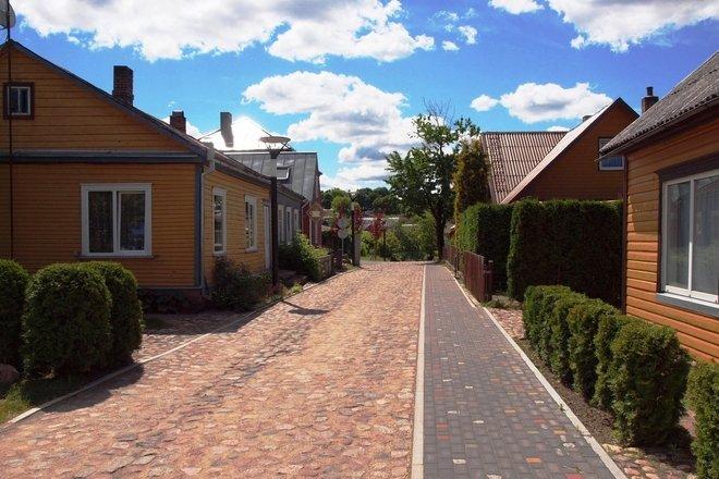 Пешеходный маршрут по городу Аникщяй