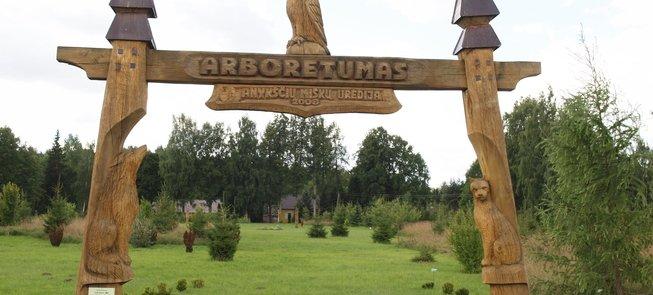 Miško muziejus. Miško pažintinis takas. Arboretumas. Skulptūrų parkas.